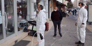 Kars Belediyesi koronavirüsle mücadele çalışmalarına aralıksız devam ediyor