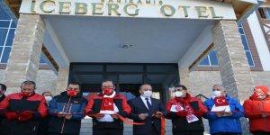 Sarıkamış'ta Bakanların katılımıyla 3 yıldızlı Iceberk Hotel hizmete girdi