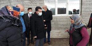 Kars'ta köylere AK Partiyle hizmet geldi
