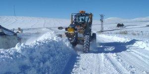 Kars'ta 51 köy yolu ulaşıma kapalı