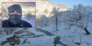 Kars'ta vatandaşların kirpikleri dondu