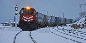 Rusya'ya gidecek olan ilk ihracat treni Türkiye-Moskova arasında mekik dokuyacak