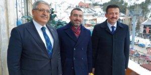 Başkan Çalkın Erzurum'da kongreye katıldı...