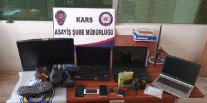 Kars'ta Hırsızlık Büro Amirliği o suçluyu yakaladı