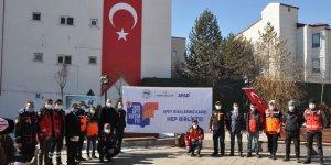 Kars'ta AFAD, halkı afetlere karşı bilinçlendiriyor