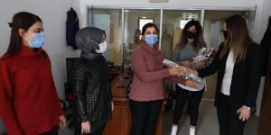 Kars Belediyesi'nde Kadınlar Unutulmadı