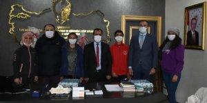 Milli Eğitim Müdürü Kızılok, dereceye giren öğrencileri ağırladı