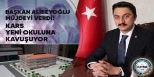 Başkan Alibeyoğlu müjdeyi verdi: Kars yeni okuluna kavuşuyor