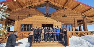 Sarıkamış Bayraktepe Zirve Kafe'nin açılışı yapıldı