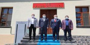 Milletvekilleri Arslan ve Kılıç, Vali Öksüz'ü ziyaret etti