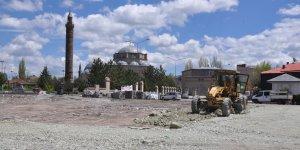 Kars'ta 'Bedesten' projesi hız kesmiyor