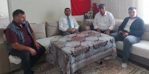 AK Parti Kars İl Başkanı Adem Çalkın'dan şehit ailelerine bayram ziyareti