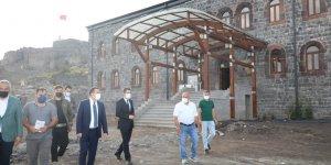 Ecdat yadigarı Beylerbeyi Sarayı restorasyon çalışmalarında sona gelindi