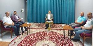 Ak Parti Kars İl Başkanı Adem Çalkın'dan Ehlibeyt Derneği'ne Ziyaret