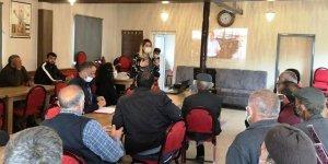 Kars'ta çiftçiler köylerinde bilinçlendiriliyor