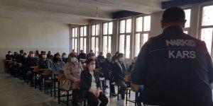 Kars'ta 394 kişiye UYUMA uygulaması hakkında bilgi verildi