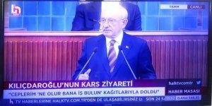 Kılıçdaroğlu, grup toplantısında Kars'ın sorunlarını anlattı
